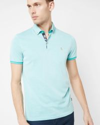 Ted Baker | Green Oxford Polo Shirt for Men | Lyst