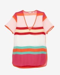 Ted Baker - Multicolor Pier Stripe Cover Up - Lyst