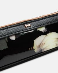Ted Baker | Black Kensington Floral Pencil Case | Lyst