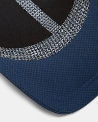 Ted Baker - Blue Mens Printed Cap for Men - Lyst