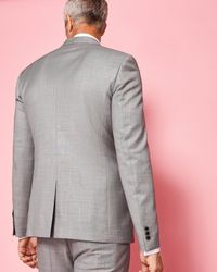 Ted Baker - Gray Debonair Wool Jacket for Men - Lyst