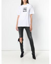 Vetements - White Capricorn Horoscope T-shirt - Lyst