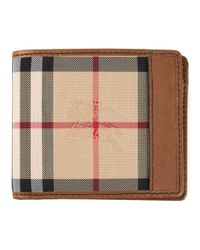 Burberry - Brown Horseferry Check Hipfold Wallet - Lyst