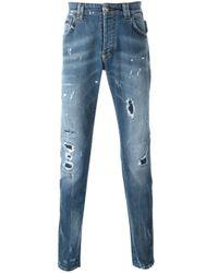 "Philipp Plein | Blue ""positano"" Jeans for Men | Lyst"