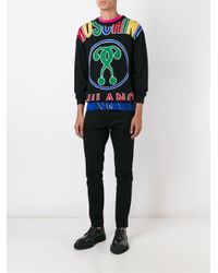 Moschino - Multicolor Wool Sweater for Men - Lyst