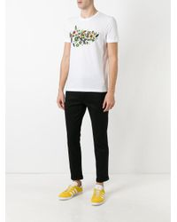 Fendi - White Hypnoteyes T-shirt for Men - Lyst