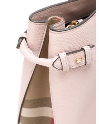 Burberry - Pink 'house Check' Tote - Lyst