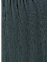 Emporio Armani - Green Pleated Skirt - Lyst