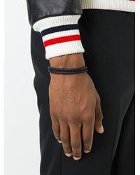 Tod's - Black Bracelet for Men - Lyst