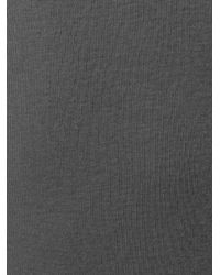 Rick Owens - Gray Basic Cotton Top for Men - Lyst