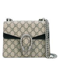 ecbd2a5481f Gucci Gg Supreme Dionysus Small Shoulder Bag in Natural - Lyst