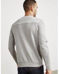 BOSS - Gray Mens Salbo Sweatshirt Grey for Men - Lyst
