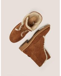 Ugg - Brown Quincy Sherling Desert Boot - Lyst