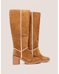 Ugg - Womens Kasen Tall Boots - Online Exclusive Brown - Lyst