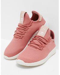 ce3b51f8b adidas Originals. Womens Pharrell Williams Tennis Hu Trainers Women s Pink