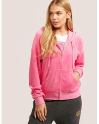 Juicy Couture   Pink Crown Sunset Jacket   Lyst