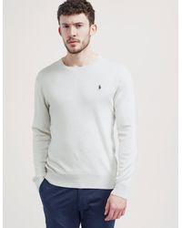 Polo Ralph Lauren - Gray Pima Cotton Sweatshirt for Men - Lyst