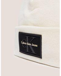 Calvin Klein - Womens Reissue Beanie White - Lyst