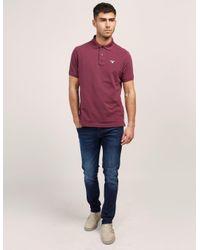 Barbour - Multicolor Tartan Pique Short Sleeve Polo Shirt for Men - Lyst