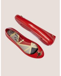 Melissa - Red Space Orb Pumps - Lyst