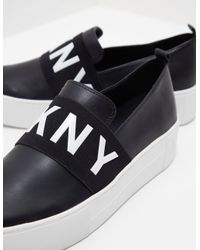 DKNY - Black Low-tops & Sneakers - Lyst