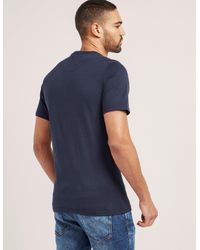 Barbour - Blue International Logo T-shirt for Men - Lyst