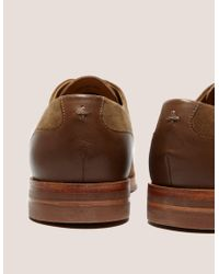 H by Hudson - Brown Enrico Derby Shoes for Men - Lyst