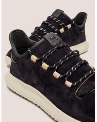 Adidas Originals - Mens Tubular Shadow Black/white for Men - Lyst