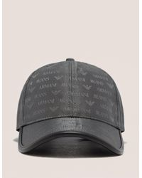 d00a549a10ef9 Armani Jeans Nylon Cap in Gray for Men - Lyst