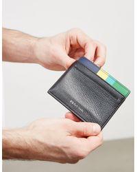 PS by Paul Smith - Mens Slip Corner Cardholder - Online Exclusive Black for Men - Lyst