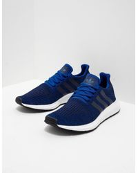93fdd2e5bed81c adidas Originals Mens Swift Run Blue in Blue for Men - Lyst