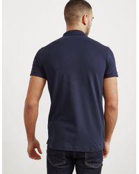 BOSS - Mens Passenger Short Sleeve Polo Shirt Navy Blue for Men - Lyst