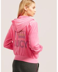Juicy Couture - Pink Crown Sunset Jacket - Lyst