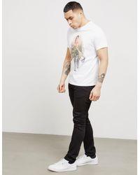 PS by Paul Smith - Mens Dino Girl Short Sleeve T-shirt White for Men - Lyst