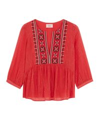 Ba&sh - Red Aura Blouse - Lyst