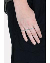 Vibe Harsløf - Multicolor 3 Finger Ring - Lyst