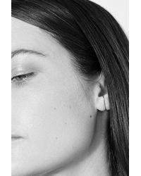 Kathleen Whitaker - Metallic Medium Stitch Earring - Lyst