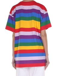 Alberta Ferretti - Multicolor Yesterday Oversized T-shirt - Lyst