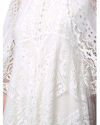 Chloé - White Lace Dress - Lyst