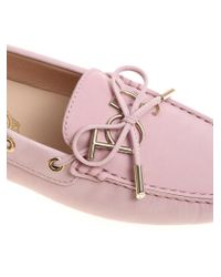 Tod's - Pink Heaven Loafers - Lyst