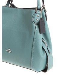 COACH - Light Blue Edie Bag - Lyst