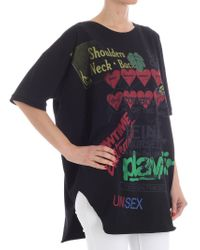 Vivienne Westwood Anglomania - Black Baggy Meaningless T-shirt - Lyst