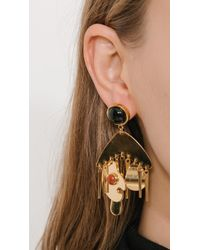 Lizzie Fortunato - Metallic Picasso Palette Earrings - Lyst