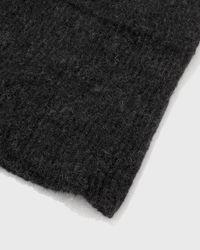 Samuji - Black Chunky Scarf - Lyst