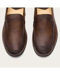 Frye | Brown Lewis Leather Venetian for Men | Lyst