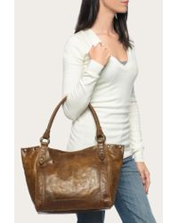 Frye - Brown Melissa Leather Hobo Bag - Lyst