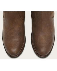 Frye - Brown Jackie Button - Lyst