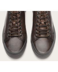 Frye - Gray Grand Low Lace for Men - Lyst