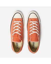 Converse - Orange Chuck Taylor 1970 Ox - Lyst