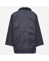 Visvim - Blue Benny Coverall Jacket for Men - Lyst